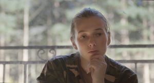 Still from the film Gentle Warriors